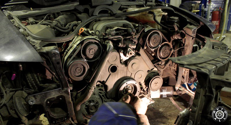 Ремонт двигателя Ауди А6