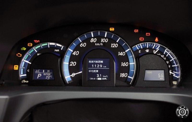 Toyota Camry приборная панель