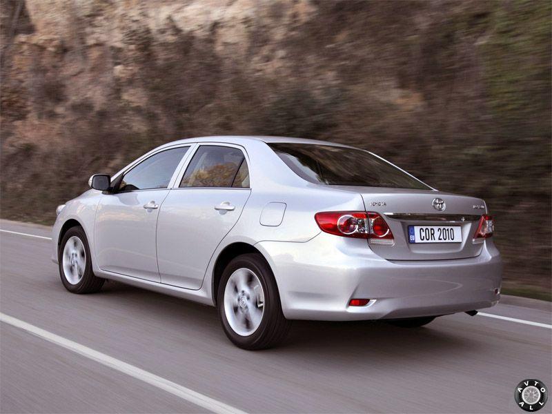 Toyota Corolla 10 поколение