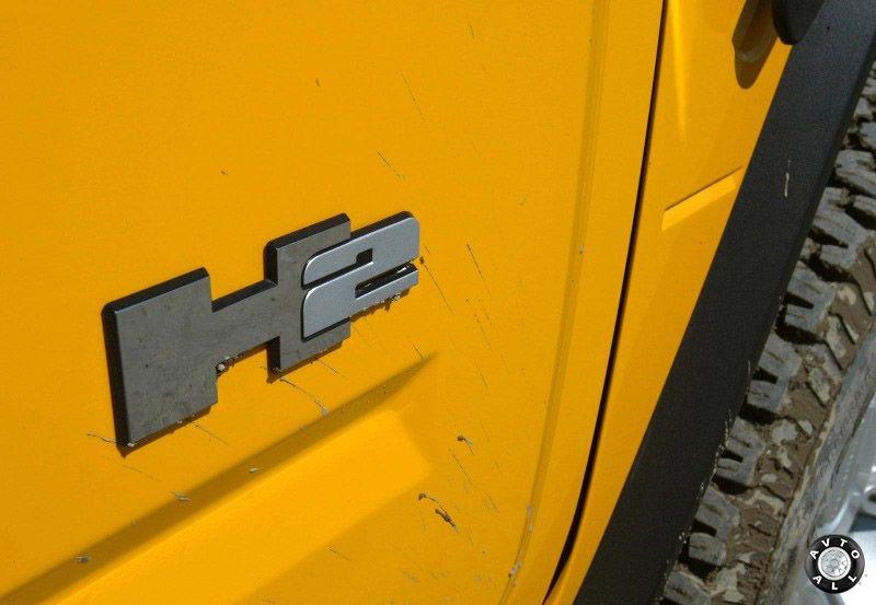 Внедорожник Hummer H2 фото