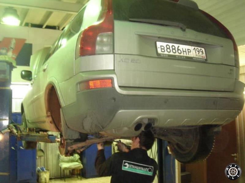 Задняя подвеска Volvo XC90