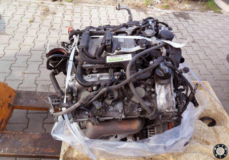 двигатель mercedes ml w164