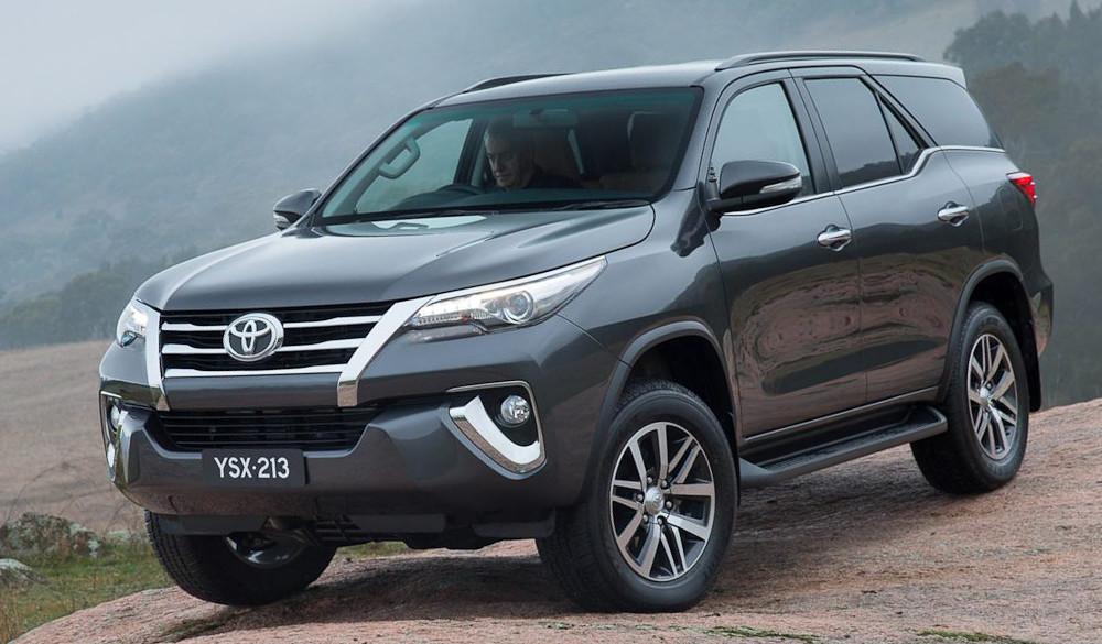 Кроссовер Toyota Fortuner получил второе рождение