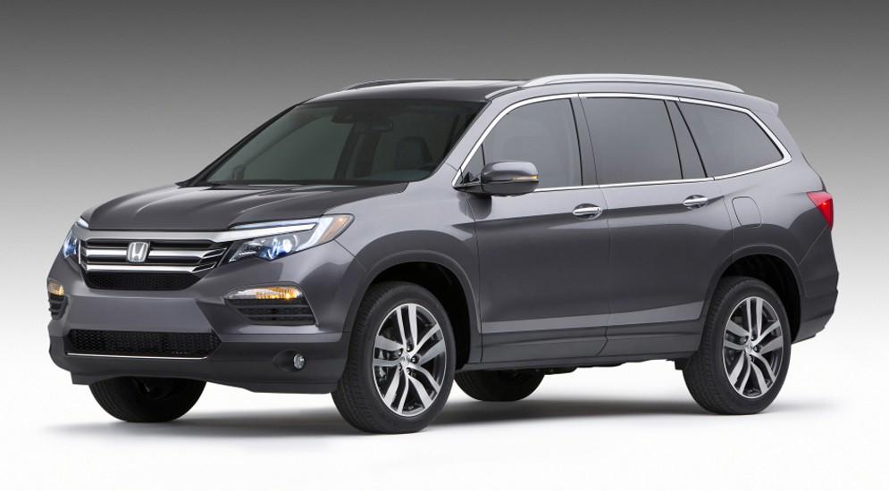 Новая генерация Honda Pilot прибудет к нам к декабрю 2015