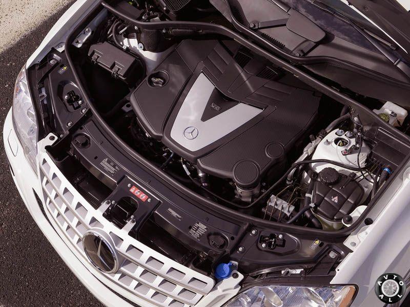 мотор 320 mercedes ml w164