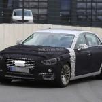 Hyundai Equus 2017 вовсю тестируют в Германии