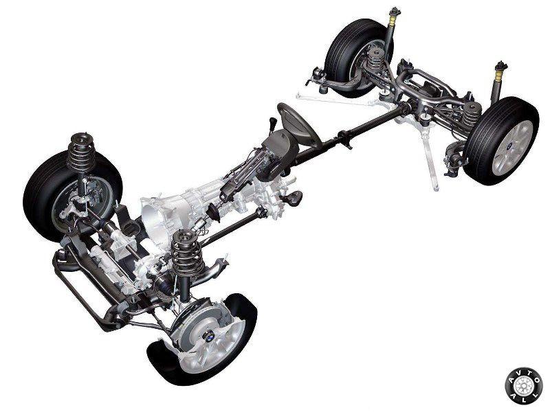 BMW X3 подвеска полная