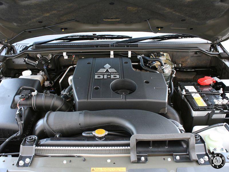 Mitsubishi Pajero 3 двигатель автомобиля