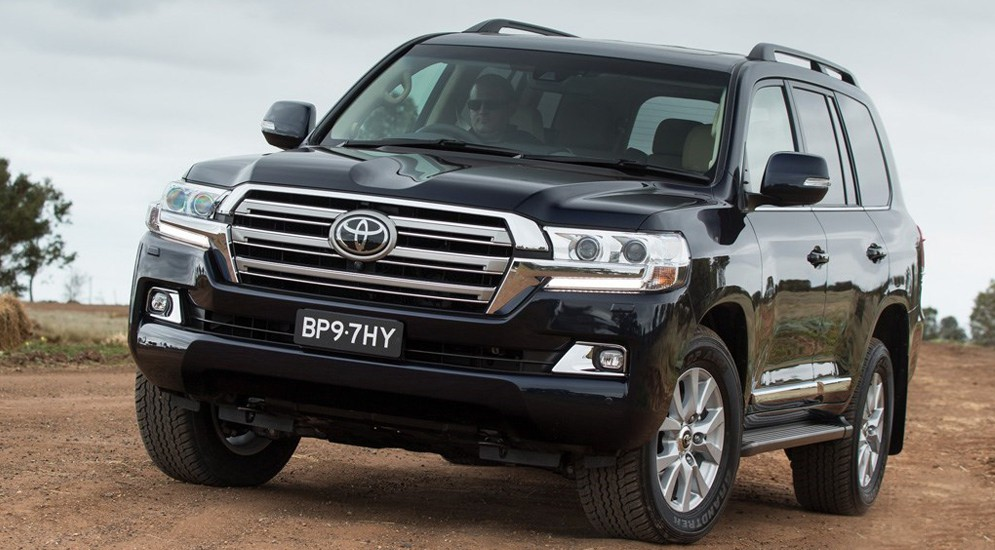 Обновился Toyota Land Cruiser 200