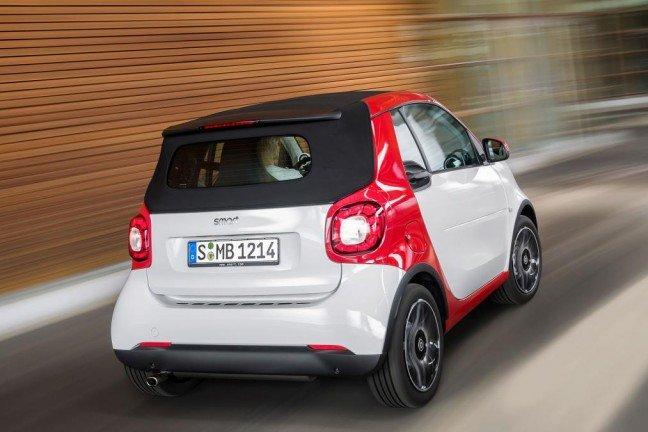 В ряду Smart ForTwo пополнение: новый кабриолет
