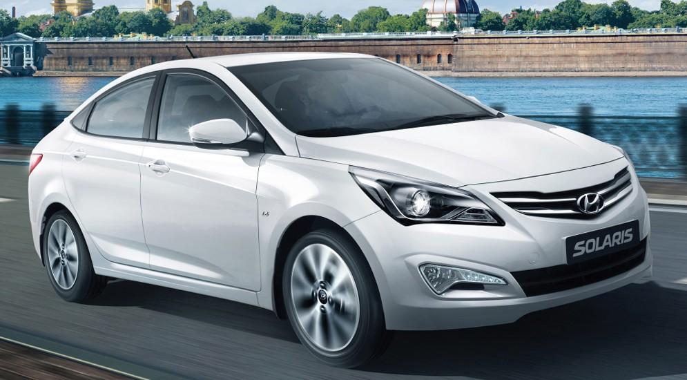 Hyundai Solaris 2015 и ix35 можно купить со скидкой до конца августа