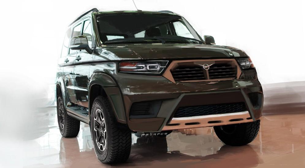 УАЗ будет выпускать новую модификацию Патриота