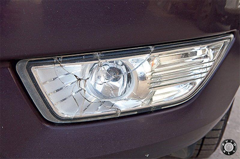 Форд Мондео с пробегом трещины на фарах