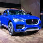 Просторный внедорожник Jaguar F-Pace со спортивным дизайном