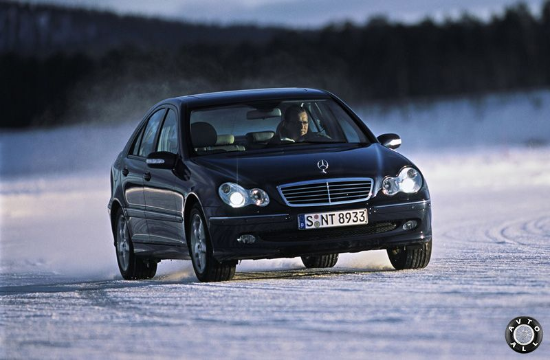 Mercedes-Benz W203 с пробегом тест драйв