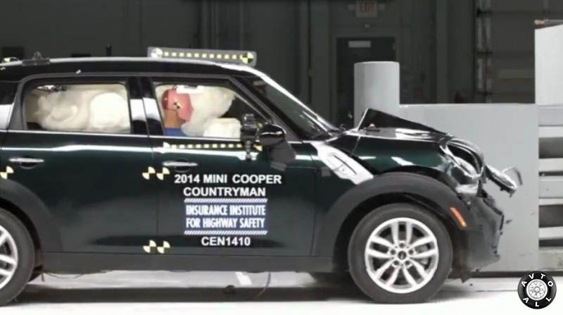 Mini Cooper безопасность автомобиля