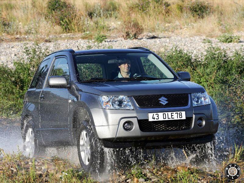 Suzuki Grand Vitara 2005 подвеска автомобиля