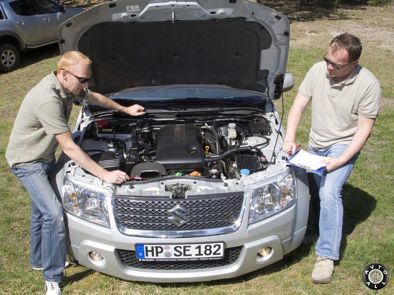 Suzuki Grand Vitara тест драйв автомобиля