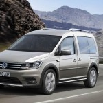 Фургон Volkswagen Caddy стал вседорожным