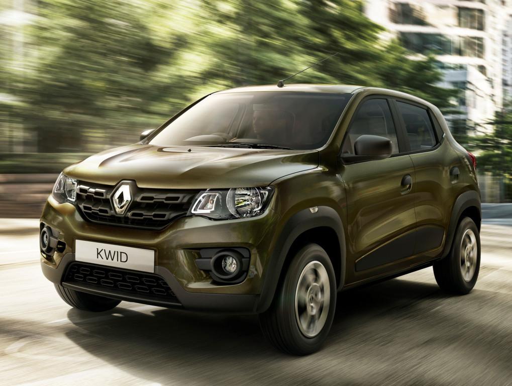 Renault Kwid начали продавать по цене в 3500 евро. Правда, только в Индии