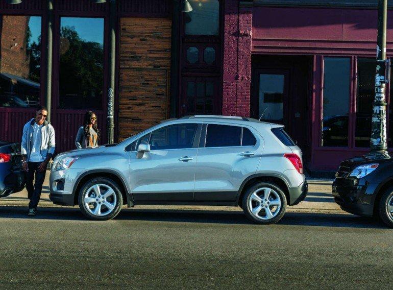Chevrolet Tracker поступил российским дилерам