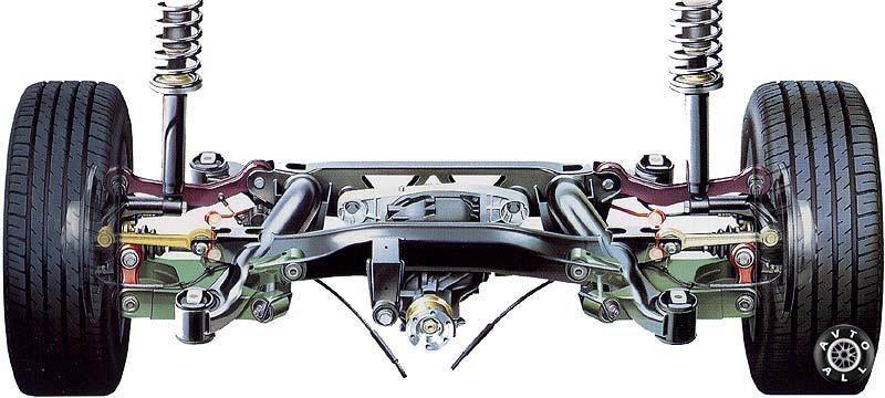 BMW 7 (E38) подвеска, задний мост