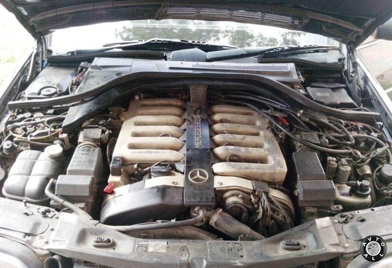 Mercedes-Benz (W140) двигатель авто