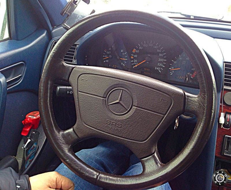 Mercedes-Benz W140 рулевое колесо