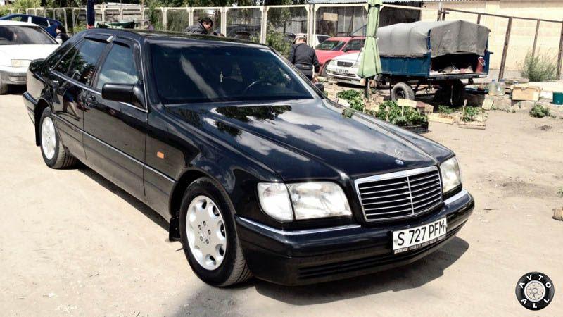 Mercedes-Benz W140 внешний вид автомобиля