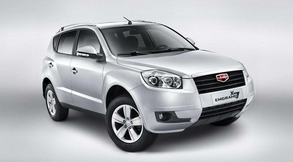 Китайские авто Geely стали самыми популярными у нас в сентябре