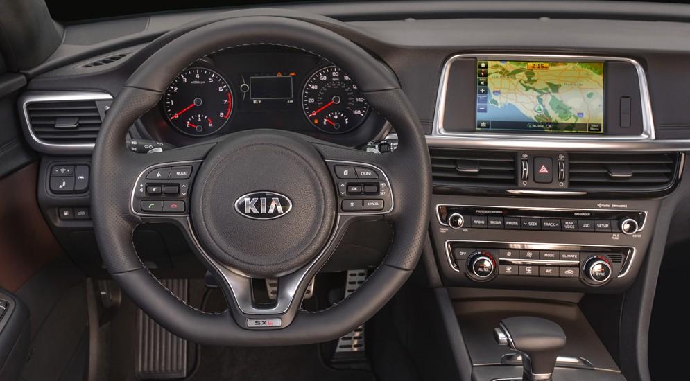 Новый седан Kia Optima 2016 будет предложен в пяти комплектациях