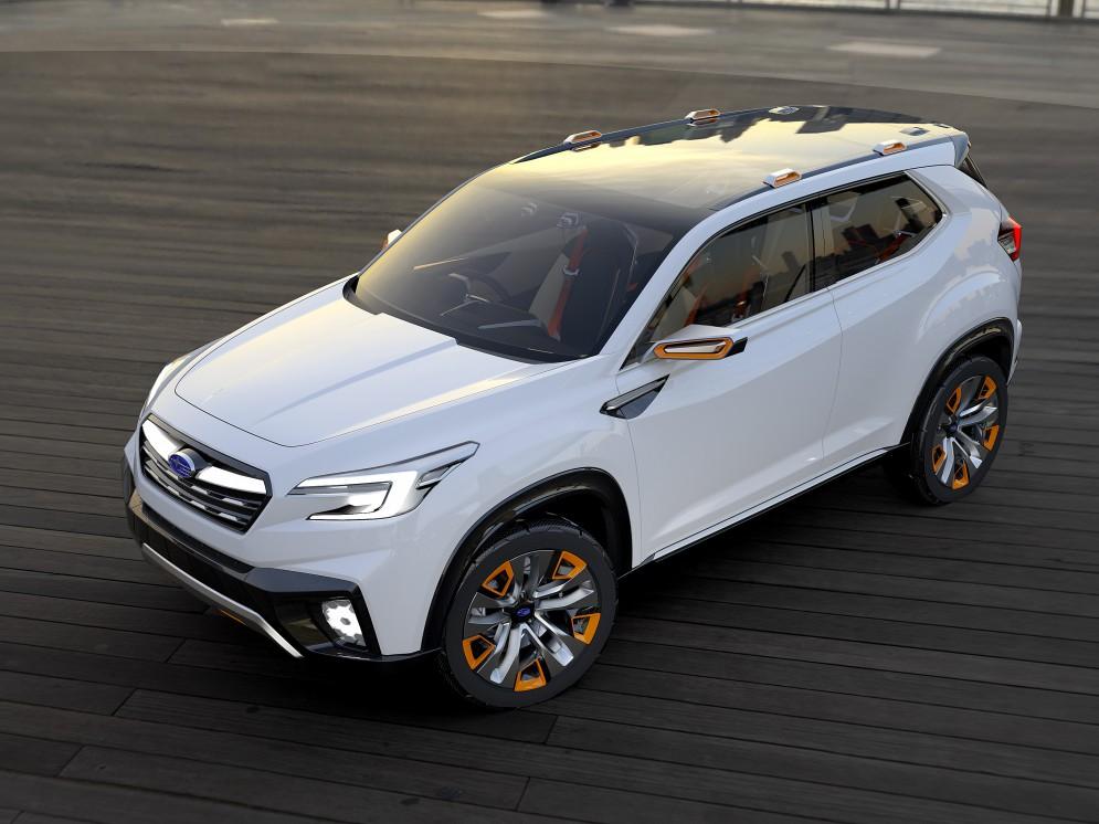 На основе концепта Subaru Viziv Future соберут новый кроссовер