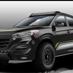 Заточенную для бездорожья версию Hyundai Tucson покажут на SEMA