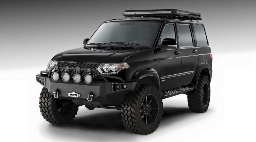 UAZ Patriot Devolro может получить моторы Mercedes и Toyota