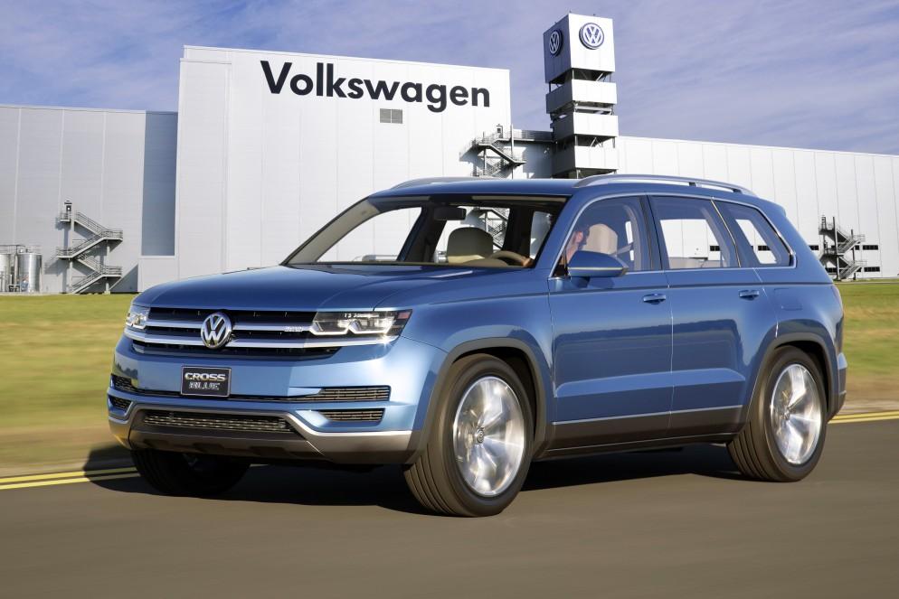 Cтало известно, где Volkswagen начнет сборку нового SUV