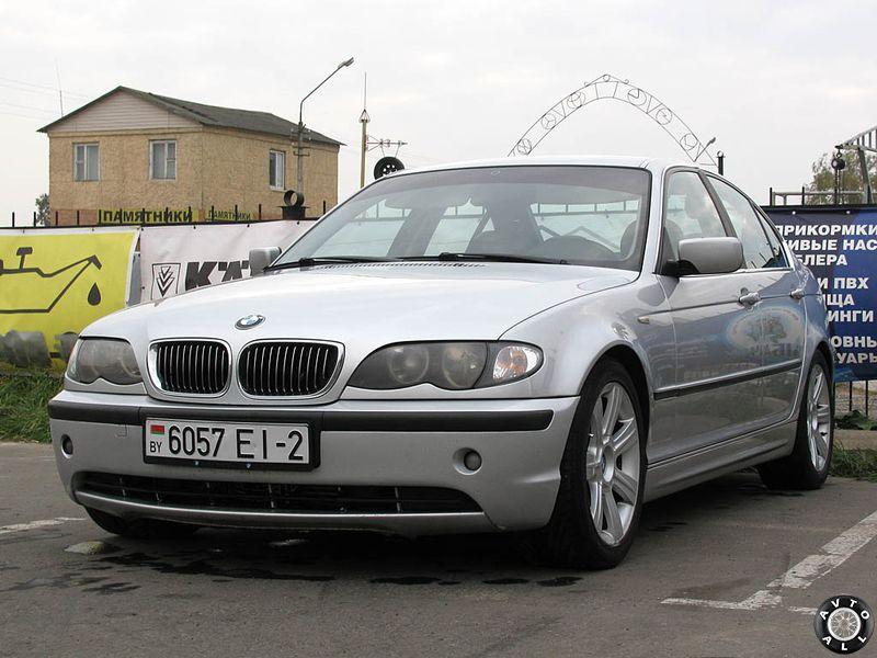 BMW 3 кузов Е46 фото подержанного авто