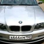 BMW 3-й серии в кузове Е46 - число дьявола на номере