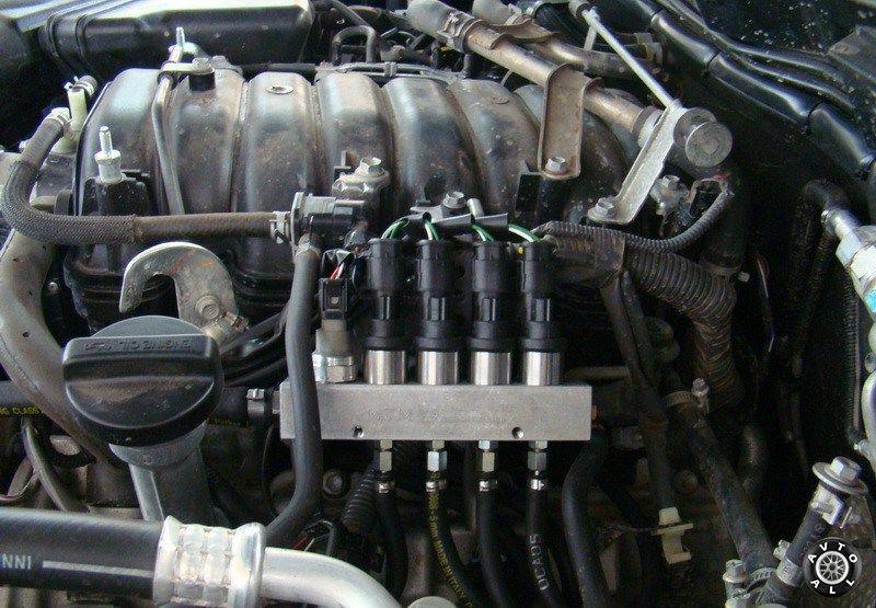 Toyota Land Cruiser 100 газовые инжекторы