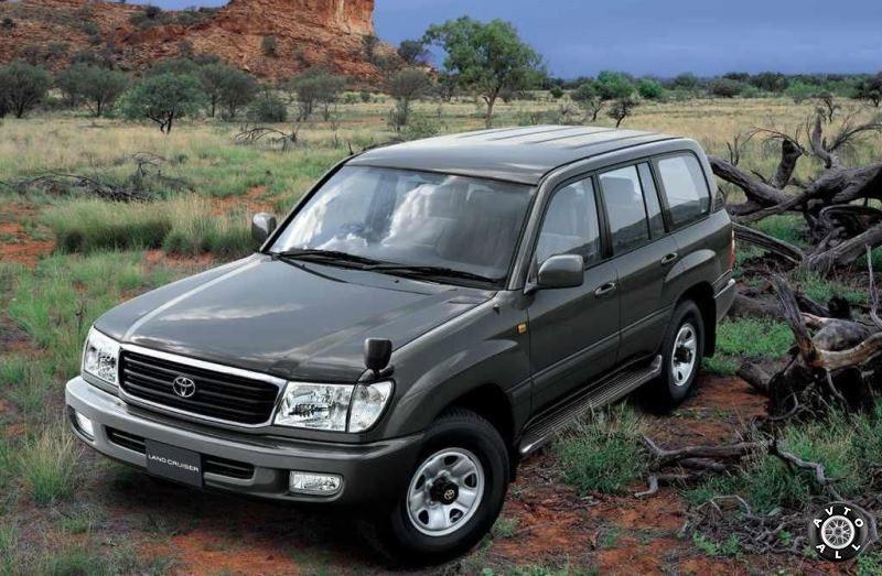 Toyota Land Cruiser 100 с пробегом