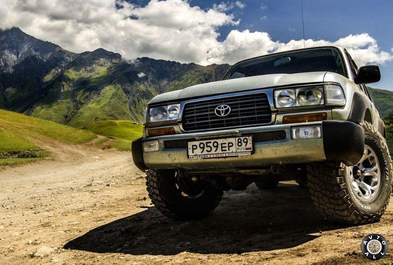 Toyota Land Cruiser 80 бу фото