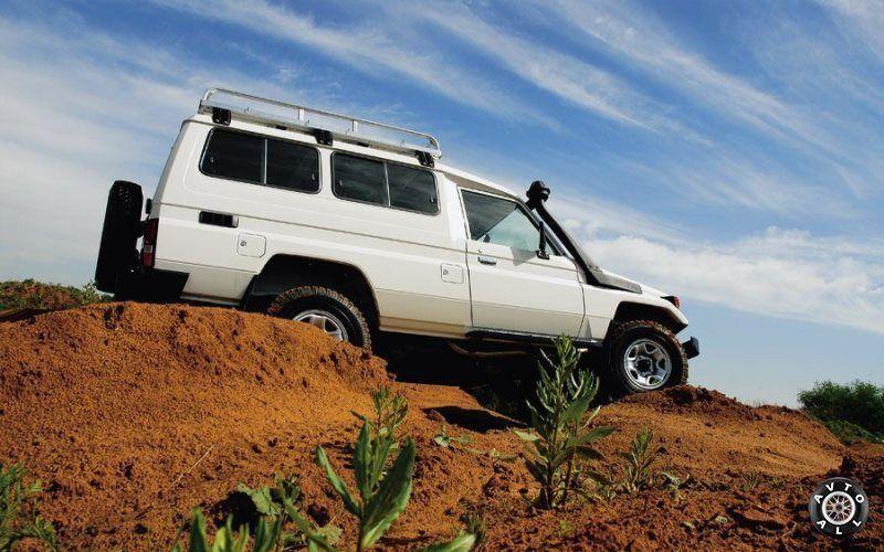 Toyota Land Cruiser для Африки бу