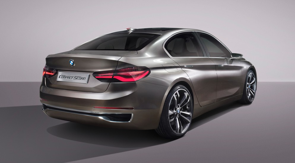 BMW показала концепт нового компактного седана