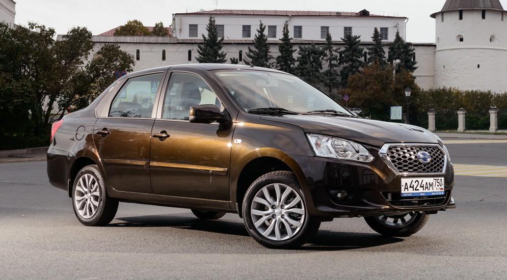"""Японцев"" Datsun on-DO и mi-DO до конца ноября продают со скидкой"