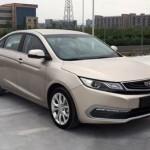 Китайцы показали новопоколенный Geely Emgrand EC7