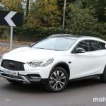 Англичане тестируют новый SUV Infiniti QX30