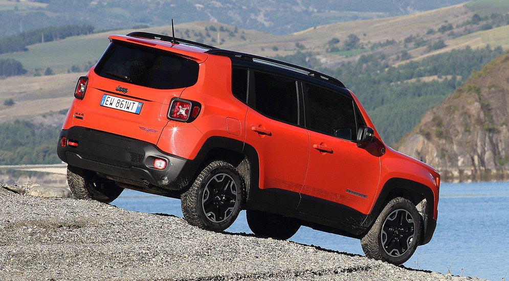 Jeep Renegade приехал в Россию