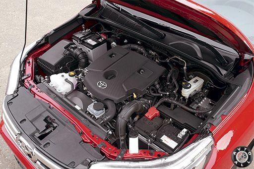 Hilux двигатель