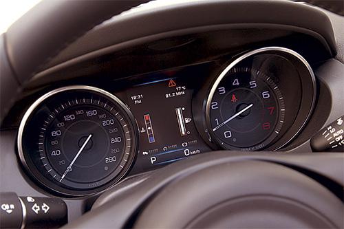 Jaguar панель приборов