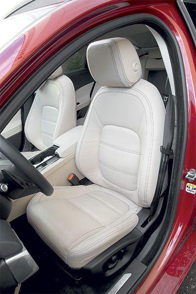 Jaguar сиденье