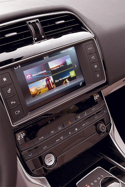 Jaguar система мультимедиа